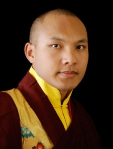 Ogyen Trinley Dorje, the 17th Karmapa.